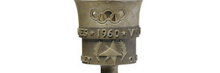 1960 Winter Olympics torch leads December 7 sale