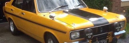1972 Hillman Avenger Tiger valued at $30,000