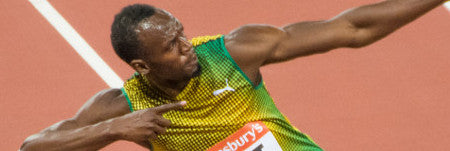 Usain Bolt memorabilia: Sprinting into the big leagues