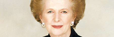 Margaret Thatcher's autograph: the Iron Lady
