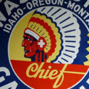 Vintage $20,900 Washington Chief Gasoline sign fills the tank in Iowa