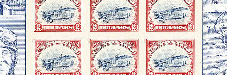 2013 $2 Inverted Jenny stamps make $40,000