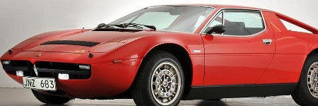 Abba Maserati Merak to make $129,000 appearance at Goodwood