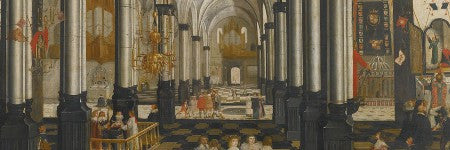 17th century church painting to make $231,000?