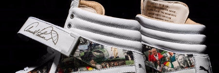 Commemorative Arnold Palmer golf shoes auctioning this week