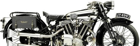 Brough Superior SS100 Alpine sets auction record at $493,000