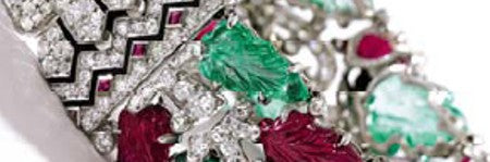 Cartier Tutti Frutti bracelet stars in Estee Lauder jewellery auction