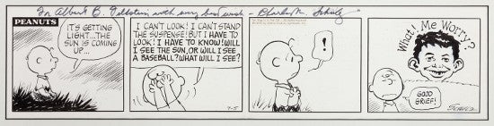 Peanuts/Mad comic art comes to Heritage Auctions in August