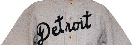 Charlie Gehringer Tigers jersey sells for $85,500 at Grey Flannel Auctions