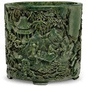 Chinese Qianlong brush pot could see $800,000 at Christie's auction