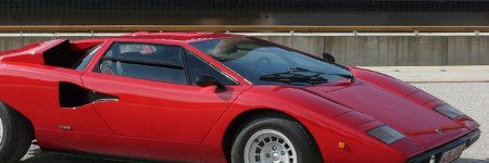 Lamborghini Countach up 175% in 2014