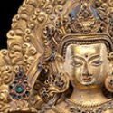 '$30,000' Tibetan bronze Manjushri coming to Cowan's