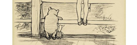 EH Shepard Winnie the Pooh illustration to sell on December 9