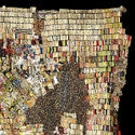 Bottle top artwork sets new world record for El Anatsui at Bonhams