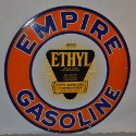 Porcelain Empire Gasoline sign brings $10,450 in petroliana auction