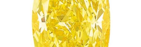 $16.3m Graff Vivid Yellow helps Sotheby's to world record jewellery auction