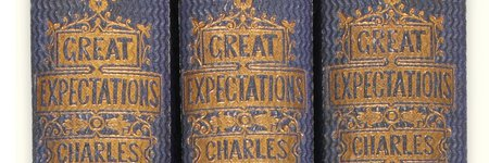 Dickens' Great Expectations first edition up 5% pa