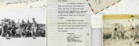 JFK PT-109 crewmember letters realise 676% increase on estimate