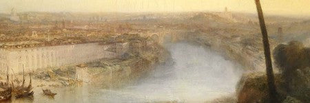Turner's Rome, from Mount Avenine could set auction record at Sotheby's