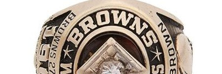 Jim Brown's NFL ring stolen says hall of famer ahead of auction