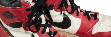 Top 10 game-worn basketball shoes sold at auction