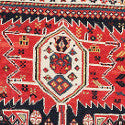 It's knot art... Beautiful Turkmenistan carpets and tapestries go up for sale