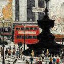 L S Lowry's Piccadilly Circus matches the World Record price for the artist