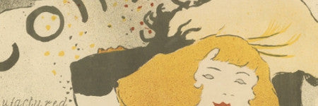 Toulouse-Lautrec's Confetti poster sells for $35,000