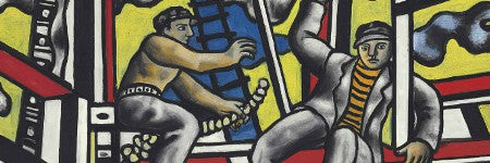 Fernand Leger's Les Constructeurs offered at $22m by Christie's