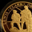 24 karat gold coin honouring explorers Lewis & Clark leads January sale