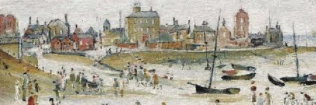 Lowry's Beach Scene sells for $1.8m