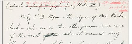 Martin Luther King handwritten page sells for $12,500