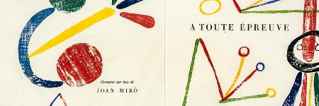 Miro's A Toute Epreuve tops Bonhams' illustrated books at $44,000