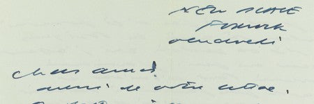 Samuel Beckett letter collection auctions with 22% increase on estimate