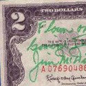 Richard Jurek's space-flown $2 bills - the story of the Jefferson Space Museum