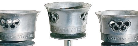 1956 Stockholm Olympic torch to see $175,000 in online auction?