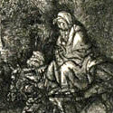 Rembrandt's Flight into Egypt sketch brings $72,000