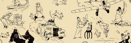 Tintin comic strip sets new auction record of $3.4m with Artcurial