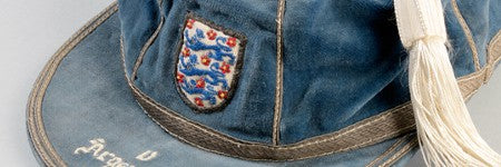 Tom Finney's England cap to see $6,000 with Graham Budd Auctions