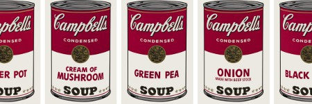 Warhol's Campbell's Soup prints sell for $407,500 in NIGO auction