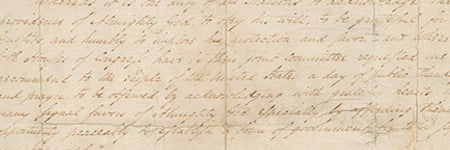 Washington's Thanksgiving Proclamation returns to the market at $8.4m