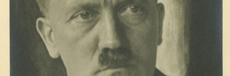 Adolf Hitler signed photograph achieves $10,000 on June 5