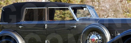 Al Jolson's 1932 Packard Twin Six offered in Scottsdale