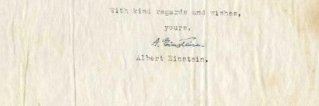 Albert Einstein's letter to a friend quadruples estimate