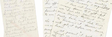 Amelia Earhart navigator archive sells for $19,000