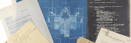 Amelia Earhart's Lockheed plans offered at Bonhams