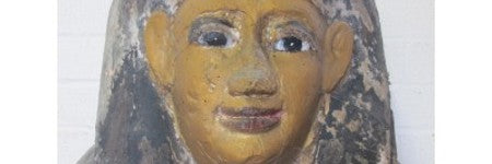 Ancient Egyptian sarcophagus lid up 500% on estimate