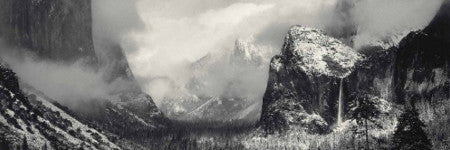 Ansel Adams' Clearing Winter Storm valued at $500,000