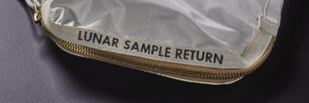 Neil Armstrong sample bag sets new auction record