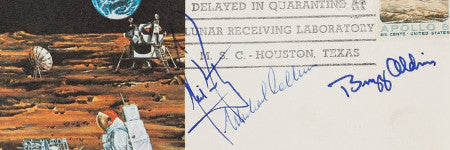Apollo 11 crew cover estimated at $60,000 ahead of Heritage space sale
